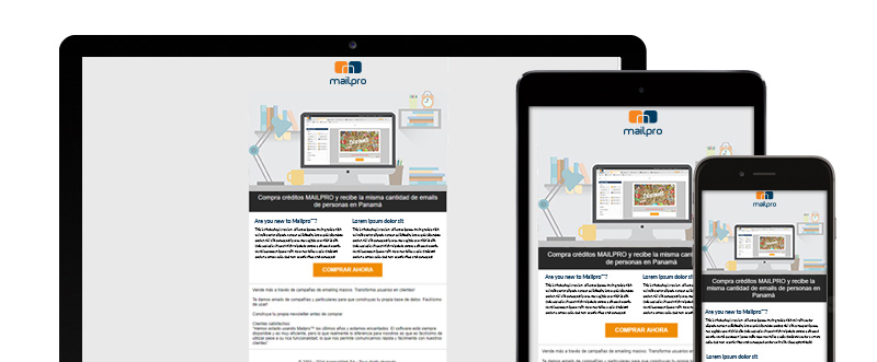 mailpro rend vos newsletters responsive