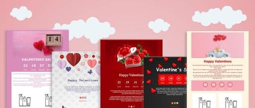 Meilleures Idées de Newsletter de Saint-Valentin pour votre Campagne E-mail