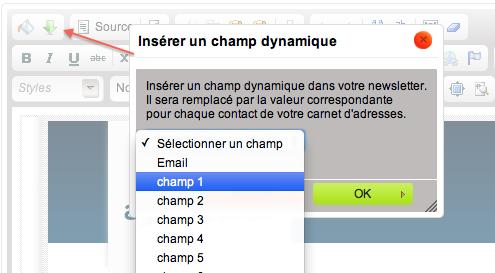 Champs dynamiques