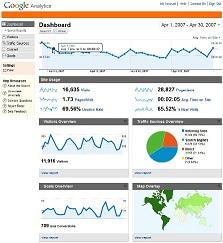 Tracker visiteurs