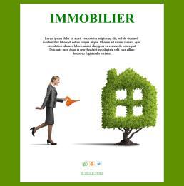 Modèles De Newsletter Gratuits Pour L Immobilier Mailpro